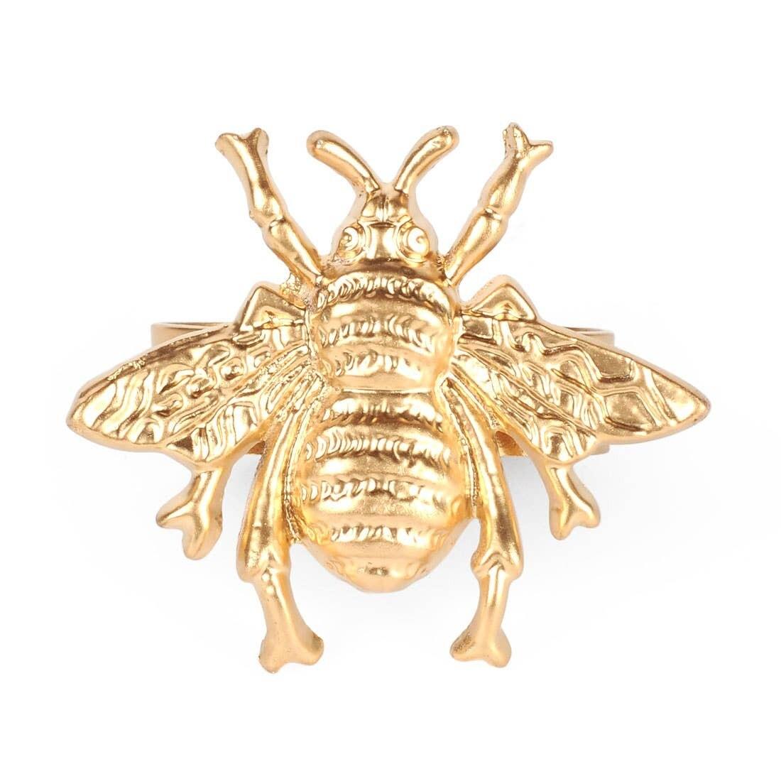 Bee Nap Rings S/2