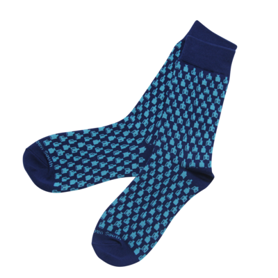 Bottle Socks- Navy
