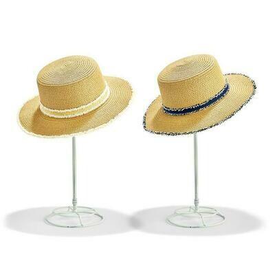 Straw Hat- Frayed