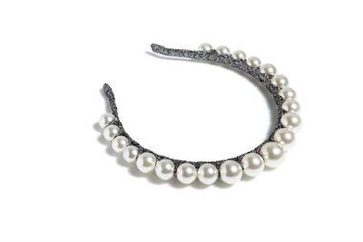 Pearl Crown Headband
