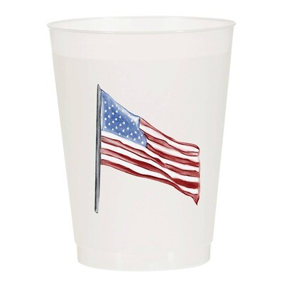 US Flag Cups S/10