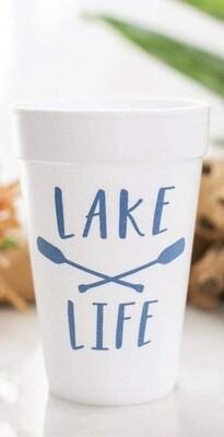 Lake Life Cups S/10