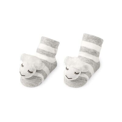 Sheep Rattle Socks