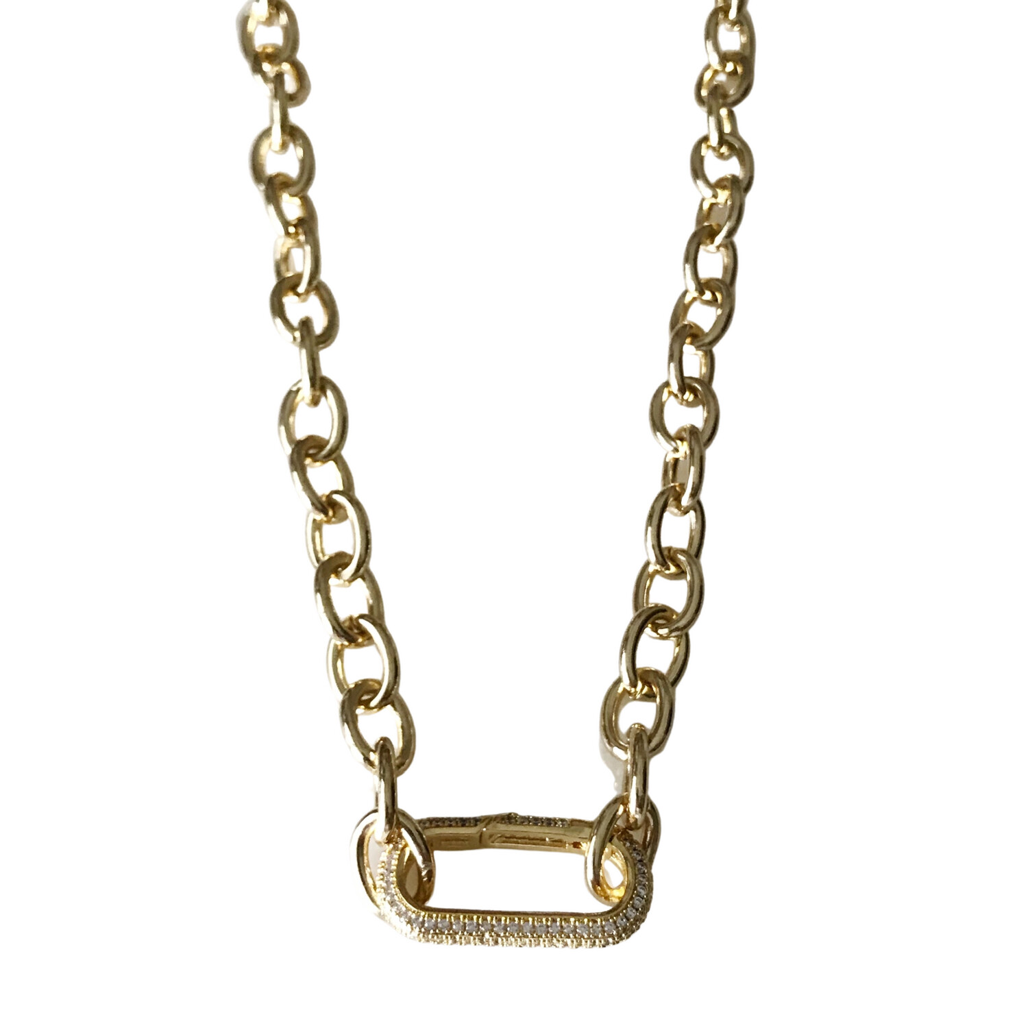 Chunky Clasp Necklace
