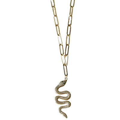 Slither Snake Necklace