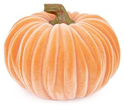 Velvet Pumpkin- Lg Orange