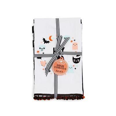 Halloween Dish Towels S/2