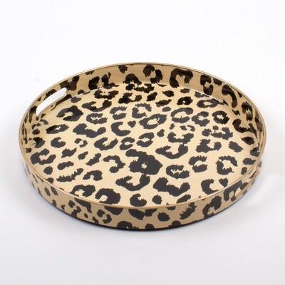Leopard Tray- Rd