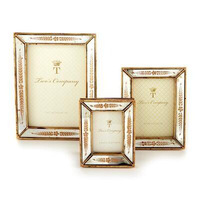 Gold Leaf Frame 2.5x3.5
