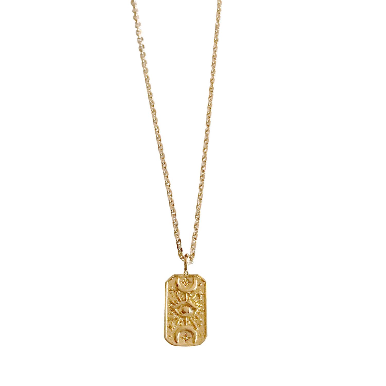 Boho Token Necklace