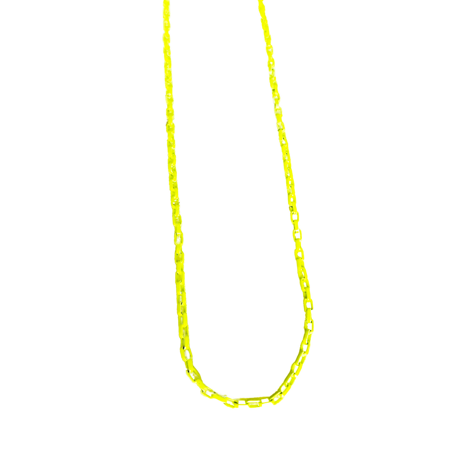 Layer Necklace- Yellow