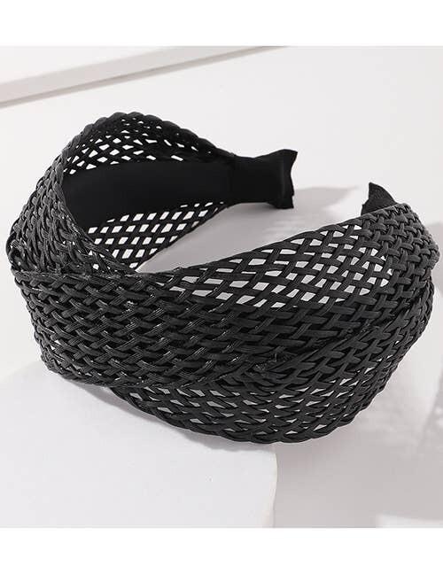 Twist Headband- Bk