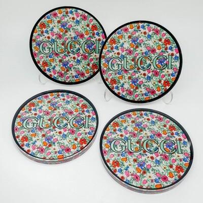 Bloom Coasters in Holder