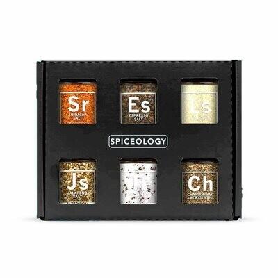 Spiceology Luxe Infused Salt Sampler