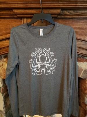 Octopus Shirt Women's Long SL