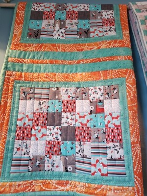 Small Postage Stamp Quilt
