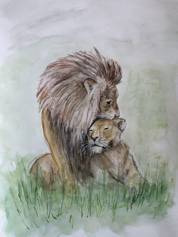 Löwen in Love