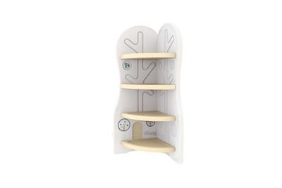 Стеллаж для игрушек угловой DesignToy-3 Бежевый