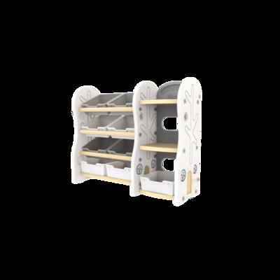 Стеллаж для игрушек  DesignToy-4 Бежевый
