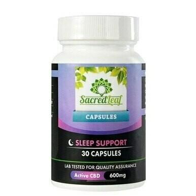 CBD Sleep Support Capsules 600 mg