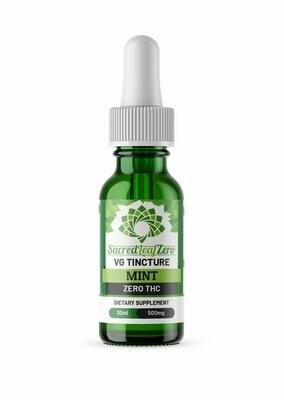 CBD VG Tincture Mint