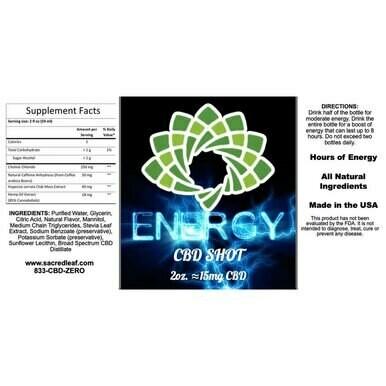CBD Energy Shot