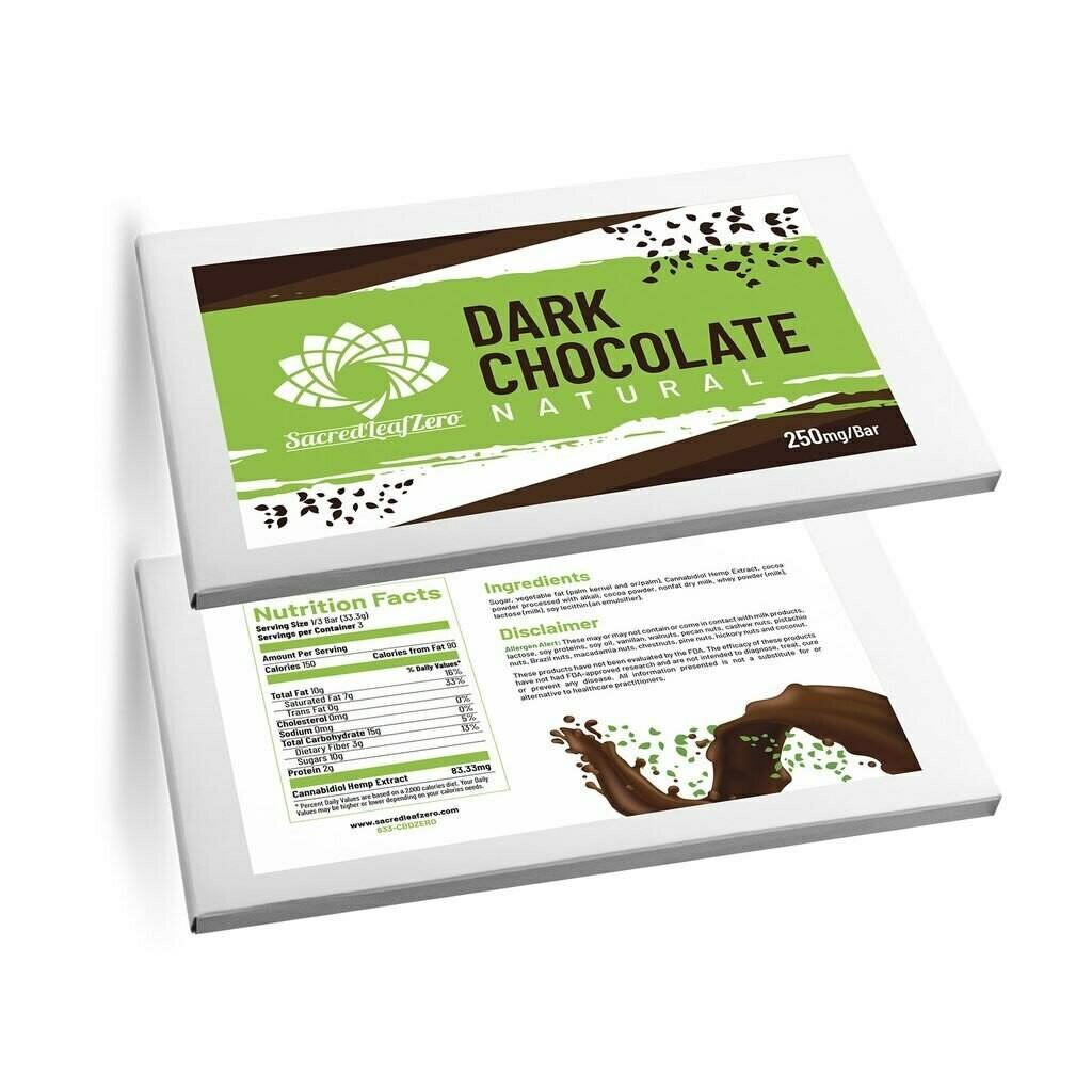 Sacred Leaf Chocolate Bar 250mg