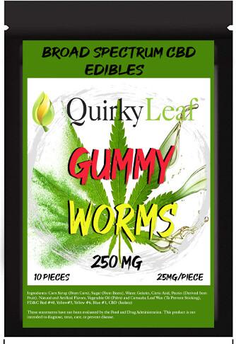 CBD Gummy Pack 10 count-250mg