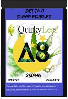 Delta 8 Sleep Gummies- 25mg