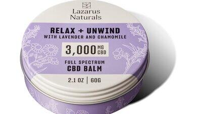 Full Spectrum CBD Balm 3000 mg