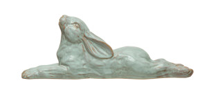Stoneware Rabbit, White