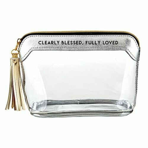 Clearly Blessed, Fully Loved Clear Pouch