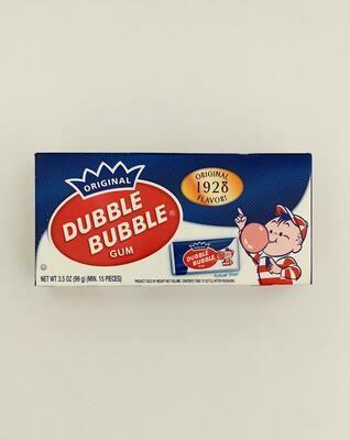 Dubble Bubble Gum Theater Box