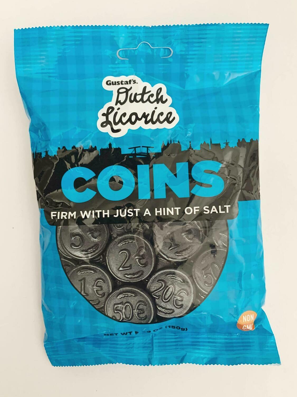 Licorice Coins Bag