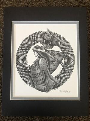 11 x 14 Acorn Woman - Paul Stone