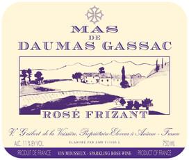 Mas de Daumas Gassac Rose Frizant 750ml - biodynamic