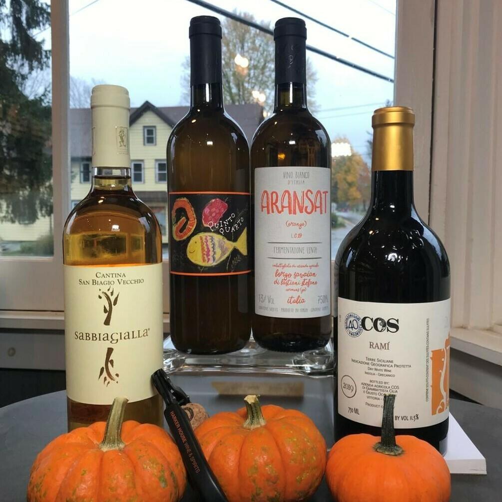 Italian Orange Wine 4-Pack 2020