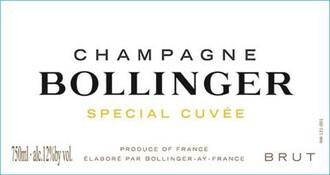NV Bollinger Special Cuvee Brut 750ml
