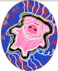 Wildman Piggy Pop Pet-Nat
