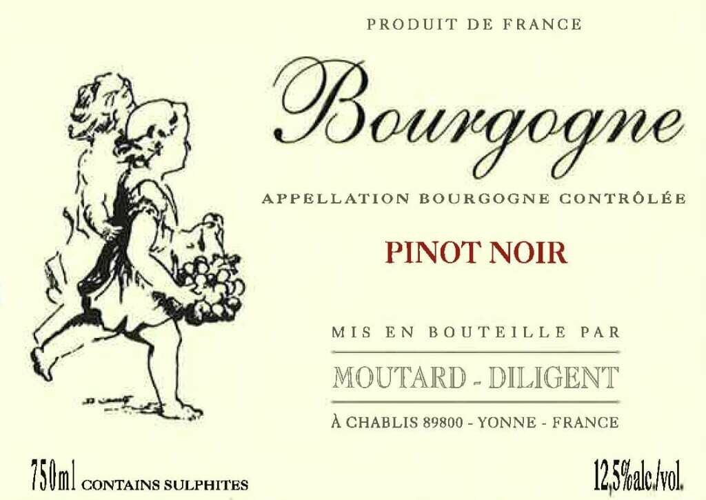 Domaine Moutard Diligent Bourgogne Rouge - sustainable