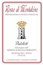 2016 Padelletti Rosso di Montalcino - organic