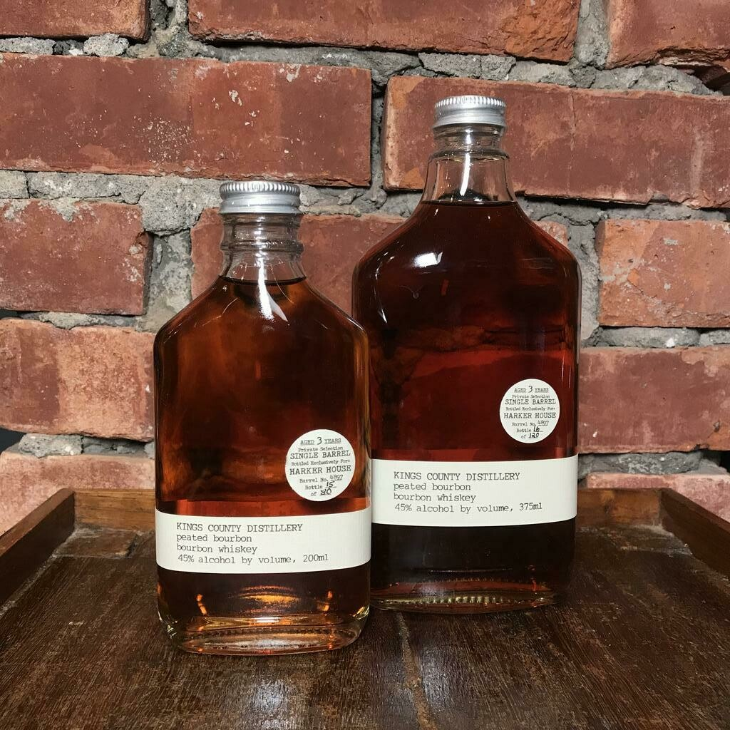 Kings County HH Peated Bourbon 375ml