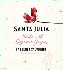Santa Julia Cabernet  Sauvignon-organic