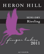 Heron Hill Semi-Dry Riesling