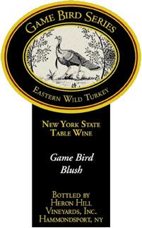 Heron Hill Game Bird Blush - sustainable