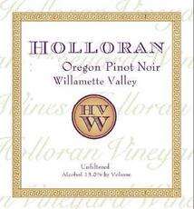 Holloran Pinot Noir Willamette Valley-organic