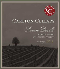 Carlton Cellars Seven Devils Pinot Noir - sustainable