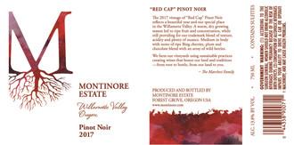 Montinore Pinot Noir - organic biodynamic