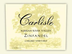 Carlisle Zinfandel Piner Olivet Ranches -organic