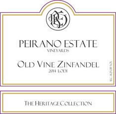 Peirano Estate Old Vine Zinfandel - sustainable